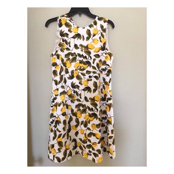 0a989729 Zara lemon print dress. M_5b6b28355a9d21c0b91553af